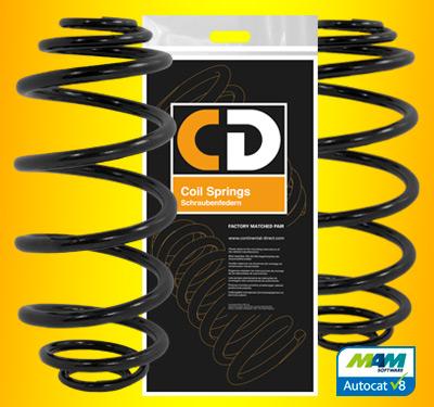 CD coil springs